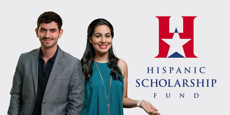Hispanic Scholarship Fund Scholarship Ana G Mendez students