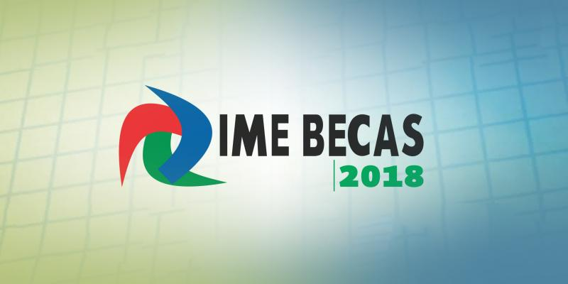 IME Becas 2018 Banner